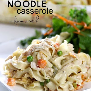 Chicken Noodle Casserole (from Scratch).