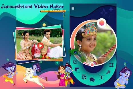 Download Janmashtmi Photo Video Maker For PC Windows and Mac apk screenshot 1