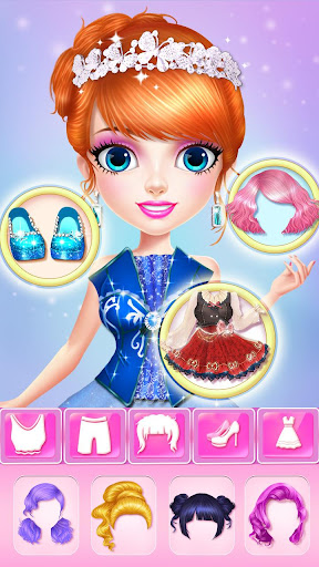 ud83dudc78ud83dudc78Princess Makeup Salon 6 - Magic Fashion Beauty 2.3.5009 screenshots 5