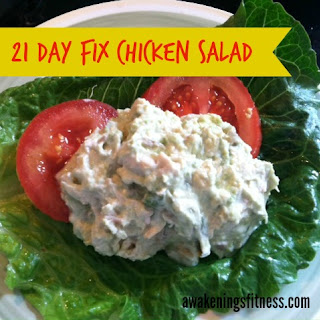 21 Day Fix Chicken Salad
