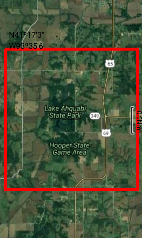 Hooper Area Pond - IOWA GPS- screenshot