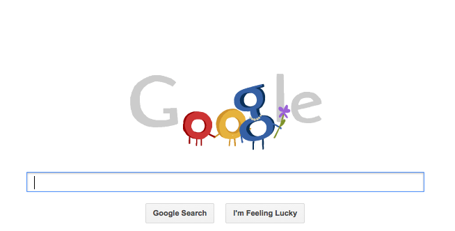 Photo: Google Doodle: Mother's Day