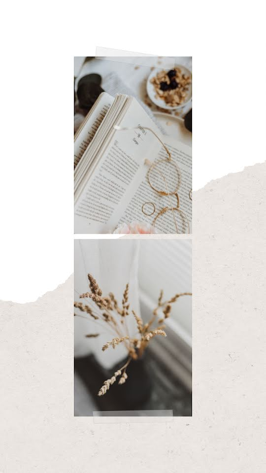 Literary Collage - Facebook Story Template