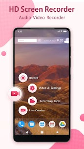 HD Screen Recorder: Audio Video Recorder App Download For Android 1