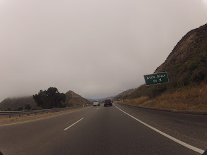 Photo: On the Pacific Coast Highway