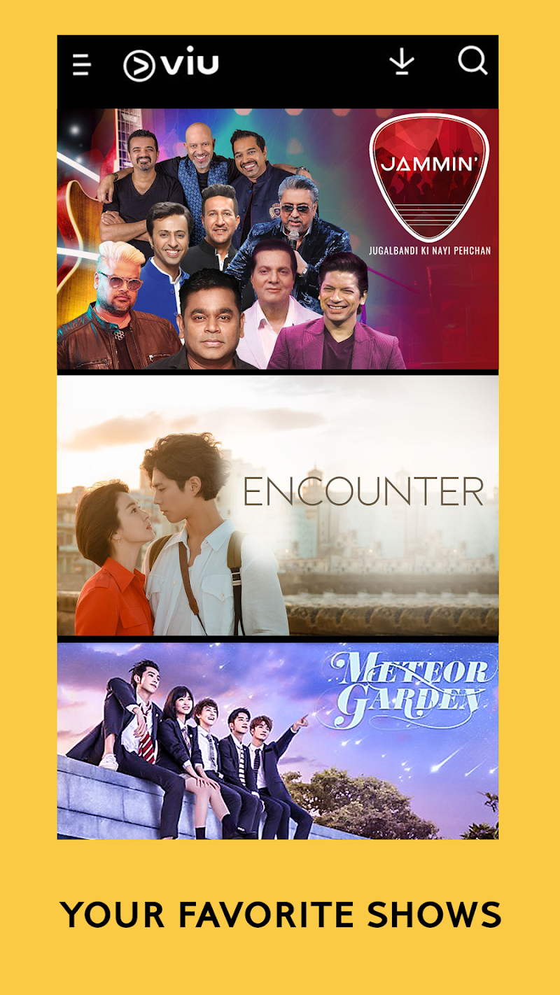 Viu - Korean Dramas, TV Shows, Movies & more Screenshot 1