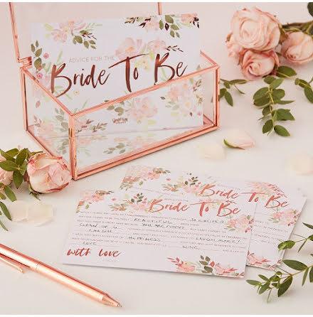 Råd till bruden - Floral Hen