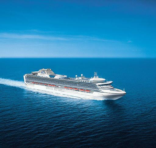 diamond-princess-at-sea2.jpg -   Diamond Princess sails to Australia, New Zealand and Asia.
