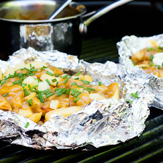 Grilled Poutine Foil Packs Recipe