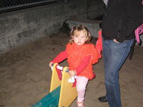 Photo: Leah really was enjoying herself