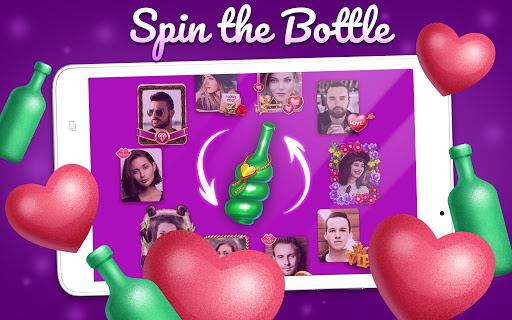 Kiss me: Spin the Bottle, Online Dating and Chat apkpoly screenshots 7