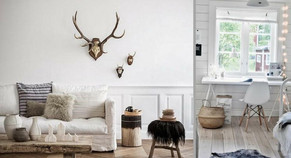 exemple de décoration scandinave pour bureau