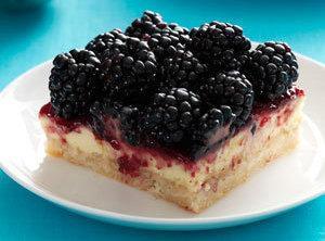 Blackberry Cheesecake Bars Recipe