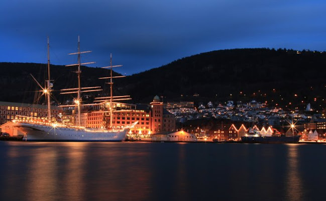 Porto di Bergen (Norvegia) di cen77