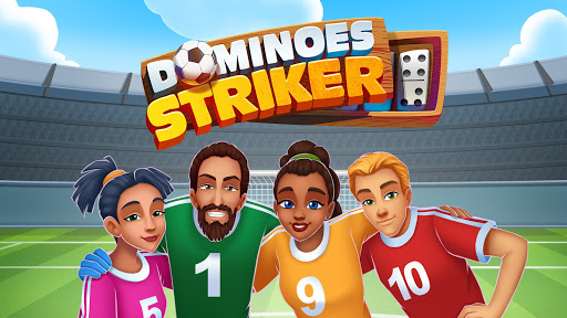 Dominoes Striker: Play Domino with a Soccer blend 2 screenshots 1