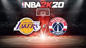 NBA2K20: Los Angeles Lakers at Washington Wizards thumbnail