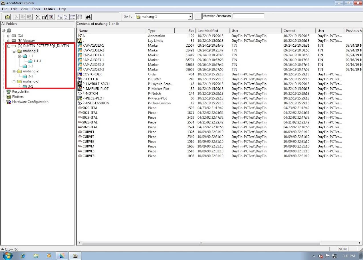 Hướng Dẫn Backup Và Restore Databases Gerber Accumark Trong SQL Server 2