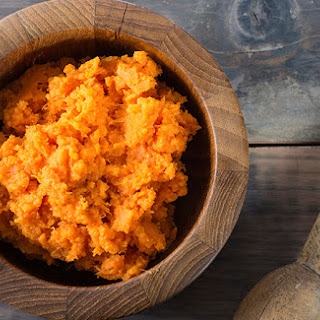 Thanksgiving Smashed Sweet Potatoes