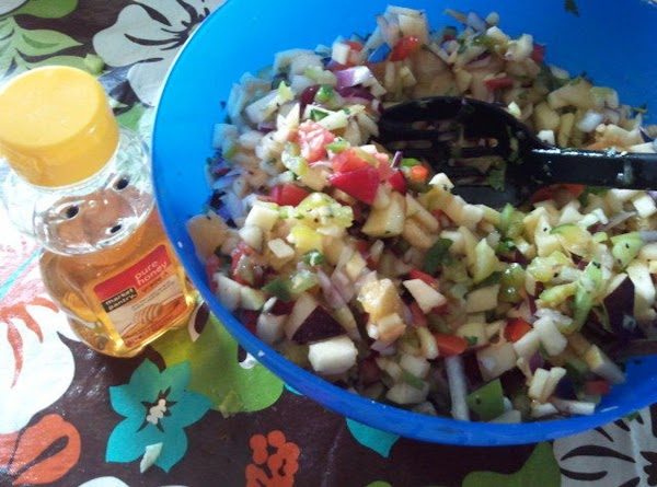 Exotic Apple Salsa Recipe