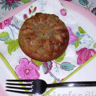 Eggless Wholemeal Spelt, Banana & Coconut Breakfast Muffins.