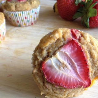 Banana Mango Strawberry Muffins