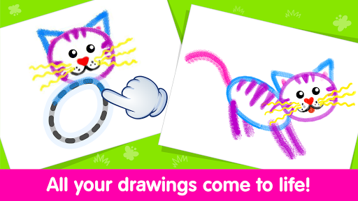 Toddler Drawing Academyud83cudf93 Coloring Games for Kids  screenshots 3