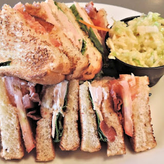 Triple Decker Turkey Club Sandwich.