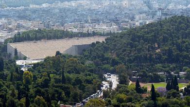 Photo: View from Acropolis: Panathenaic Stadium