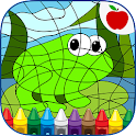 Color By Number Coloring Games icon
