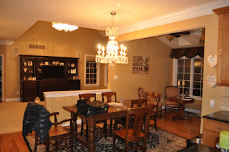 Photo: (Before) Tocco's Breakfast room half walls Moorestown, NJ