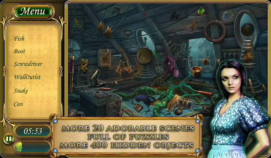 Hidden Object: Strange Mystery - screenshot thumbnail