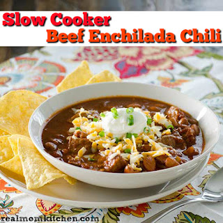 Slow Cooker Beef Enchilada Chili and 23 Other Comforting Soups.