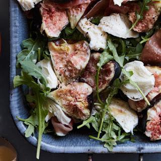 Fig Salad with Fresh Mozzarella.