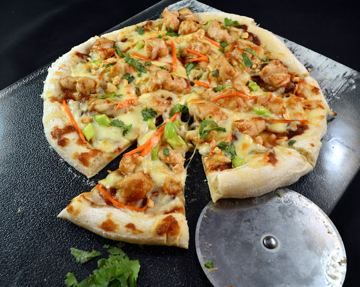 Thai Chicken Pizza – CPK Copycat Recipe