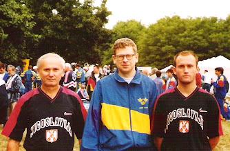 Photo: Hungary 1998. god. u sredini Jan SM5FUG