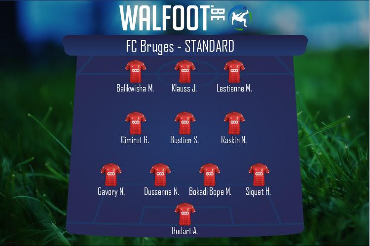 Standard (FC Bruges - Standard)