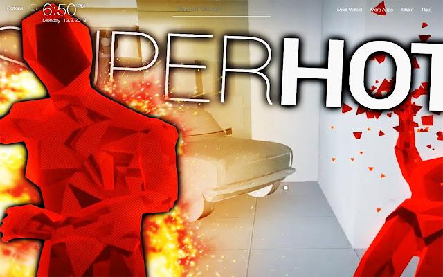 Superhot Game Wallpapers FullHD New Tab