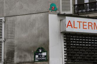 Photo: Street art - Gz'Up - Paris XIe- rue de Charonne