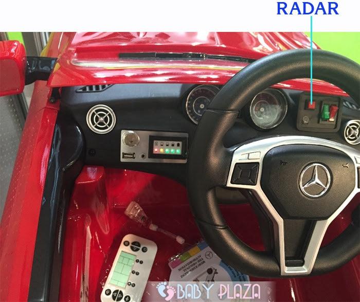 Ô tô điện trẻ em SX-1538 có Radar 10