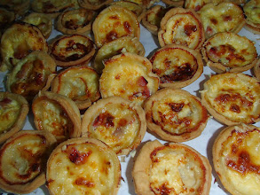 Photo: Mini quiches assorties (2/pers)