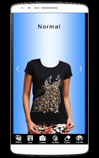 Women T-Shirt Trend Photo Suit
