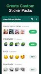 screenshot of Sticker Maker for WhatsApp, WhatsApp Stickers