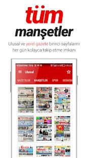 Sanal Basın: Tüm Gazeteler, Son Dakika Haberleri - náhled