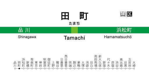 YamanoteLine Station name 1.0.1 Windows u7528 2