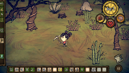 Screenshot 2 Don't Starve: Shipwrecked 0.16 APK+DATA MOD