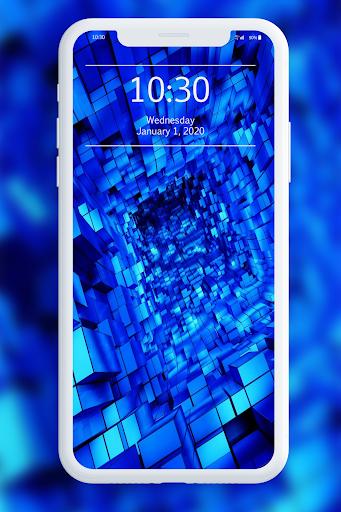 Blue Wallpaper 1.0 screenshots 2