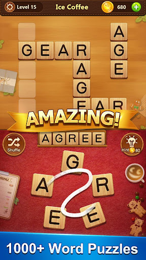 Word Cafe - A Crossword Puzzle screenshot