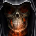 Skeleton in HellFire LWP icon