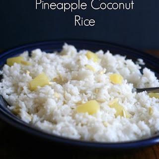 Pineapple Coconut Rice