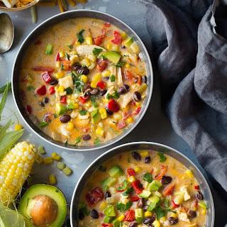 Creamy Mexican Corn Chowder.